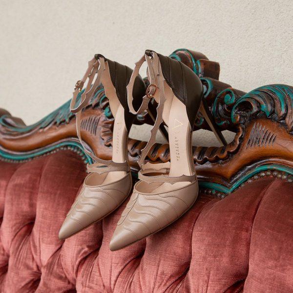 Scarpe da donna eleganti in pelle
