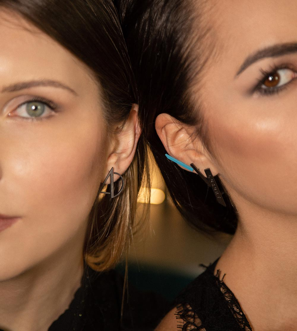 orecchini moderni da donna
